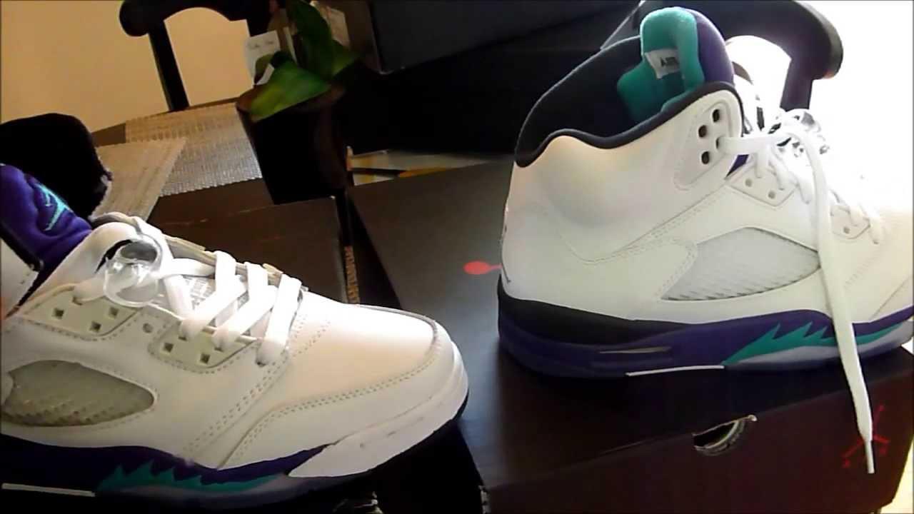 Jordan V (5) Black/White