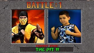 Mortal Kombat 2 Real Life Game-play!