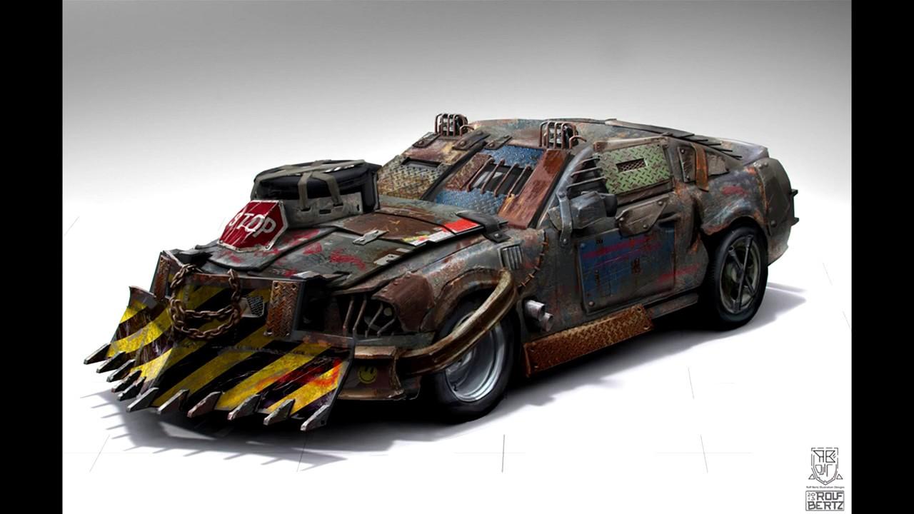 Самые лучшие машины для зомби-апокалипсиса - YouTube