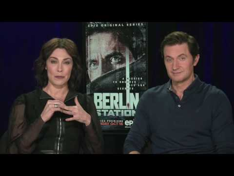 IR  Michelle Forbes & Richard Armitage For Berlin Station