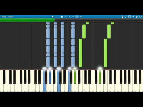 [Synthesia] How to play Fallout New Vegas Theme (Piano Tutorial)