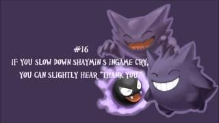 20 WTF:Creepy/Strange Things about Pokemon