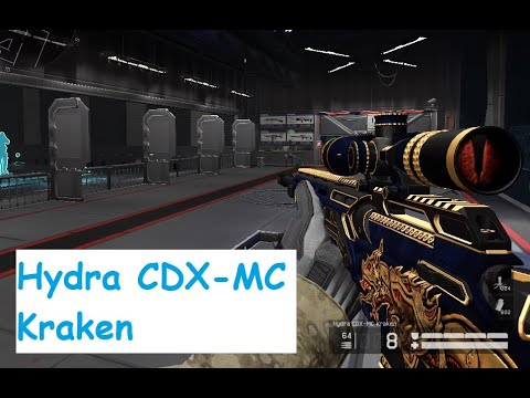 Warface Hydra CDX MC Kraken PVP Gameplay