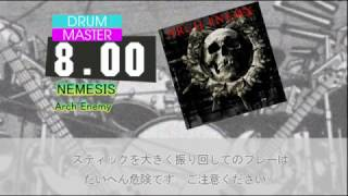 DTXHD 本家譜面 AUTOPLAY NEMESIS/Arch Enemy BPM:195 MAS:8.00 Guitar:...