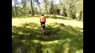 Geführte Mountainbike Tour durch das Langalmtal in den Kärntner Nockbergen