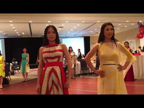 Amateur Fashion Show at NECINA Anniversary Event 2016
