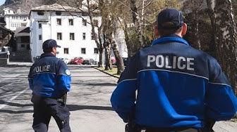Unterwegs mit der Kantonspolizei Wallis