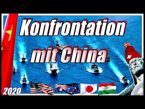 Konfrontation mit China | Allianz von USA, Indien, Australien & Japan | Die EU schläft weiter