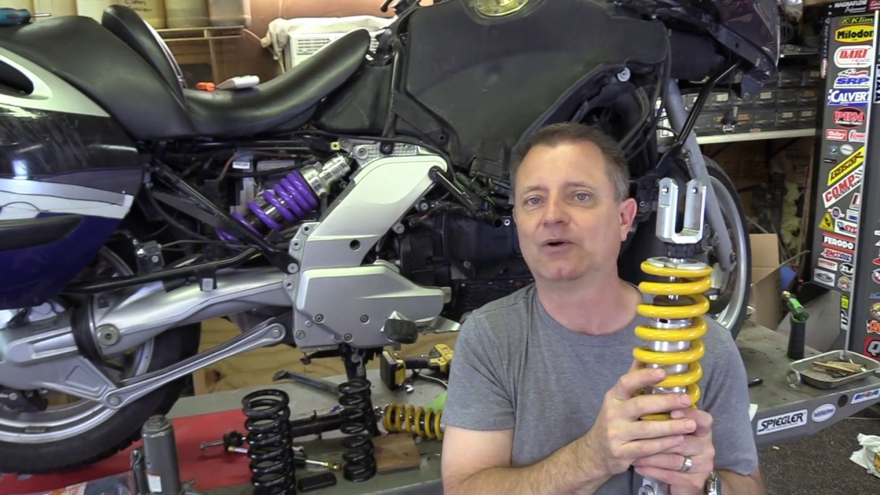 Choosing Shocks and Springs for Your Motorcycle