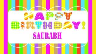 Saurabh   Wishes  - Happy Birthday