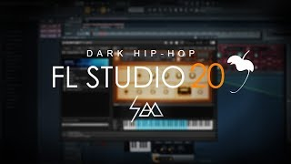 HOW TO MAKE DARK HIP-HOP BEATS IN FL STUDIO |  CYMATICS SAMPLES
