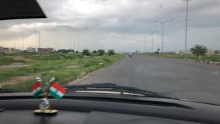 On the Mohali Chandigarh Airport Road