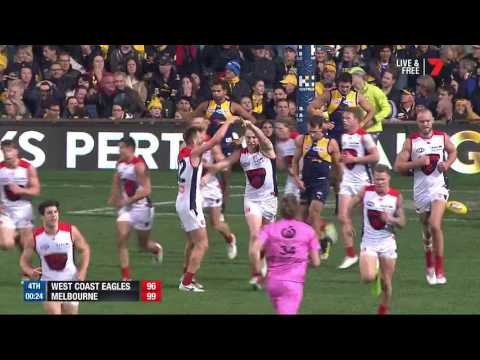 Last two minutes - Eagles v Demons