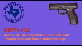 SBPH-132 Review of The Lazy Wolf Guns HK-VP9/40 Master Reduced Reset Action Package