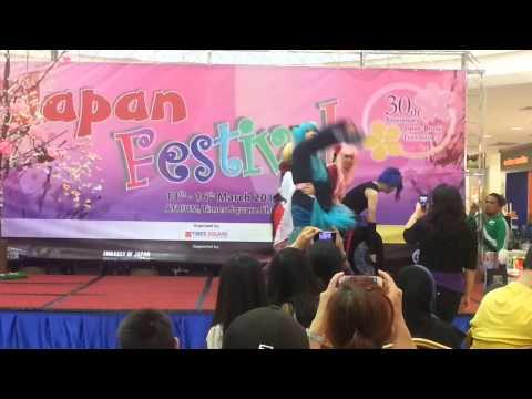 Brunei Time Square Japan Festival - 千本桜 Senbonzakura Dance Cover