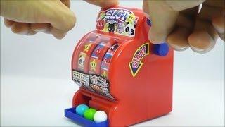 Bubble Gum Machine Learn Colours! Dubble Bubble Gum and Gumballs ガムボールマシーン