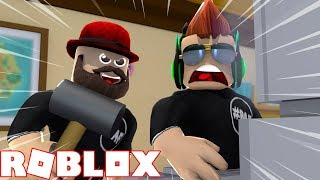 THE BEAST IS A MONSTER, HE DON'T LET ME HACK! ROBLOX FLEE THE FACILITY | RUN, HIDE, ESCAPE!