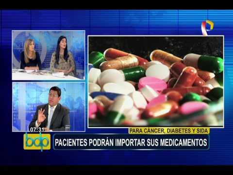 Pacientes podrán importar sus medicamentos hasta por un monto de US$10 000