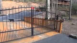 Moose Creek Crossing Cabin Rentals - Mama Bear Creek Bridge