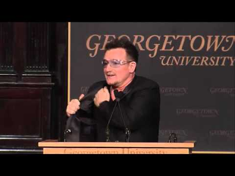U2News - Bono at Georgetown University - Part 3