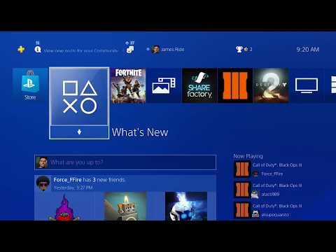 2017/2018 Update 5.0 How To Delete Users On PS4 Console New update