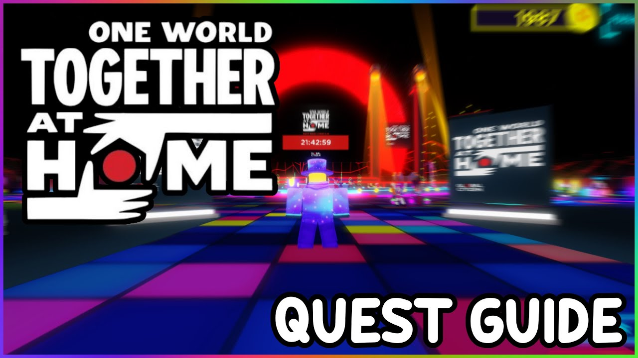 TOGETHER AT HOME EVENT QUEST GUIDE Roblox Together at