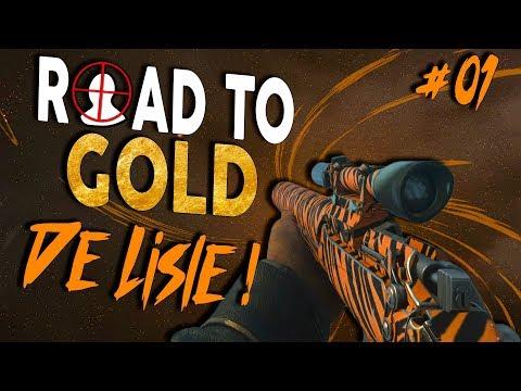 A SNIPER SILENCIADA! - Road To Gold #01 De Lisle - CoD WW2