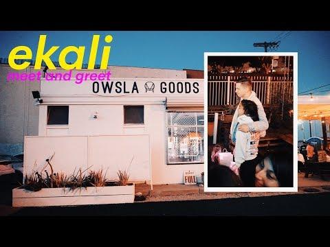 EKALI Meet + Greet at OWSLA