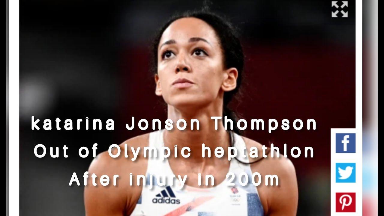 Britain Olympian Katarina Johnson-Thompson suffers injury during ...