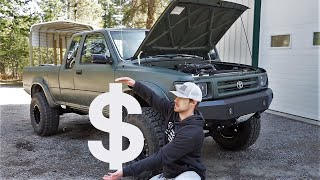 What Does It Cost To Build A 3.4L Swapped Toyota Pickup!!!