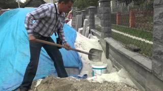 видео Белые штукатурки