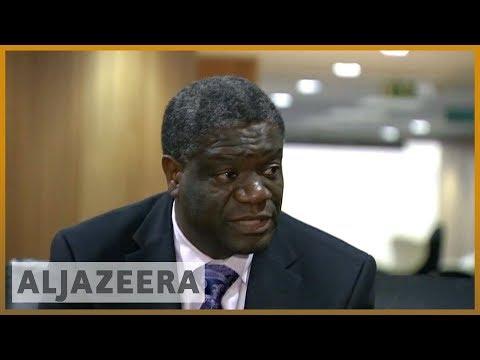 🏆Nobel Peace Prize awards Denis Mukwege, DRC doctor and anti-rape activist l Al Jazeera English