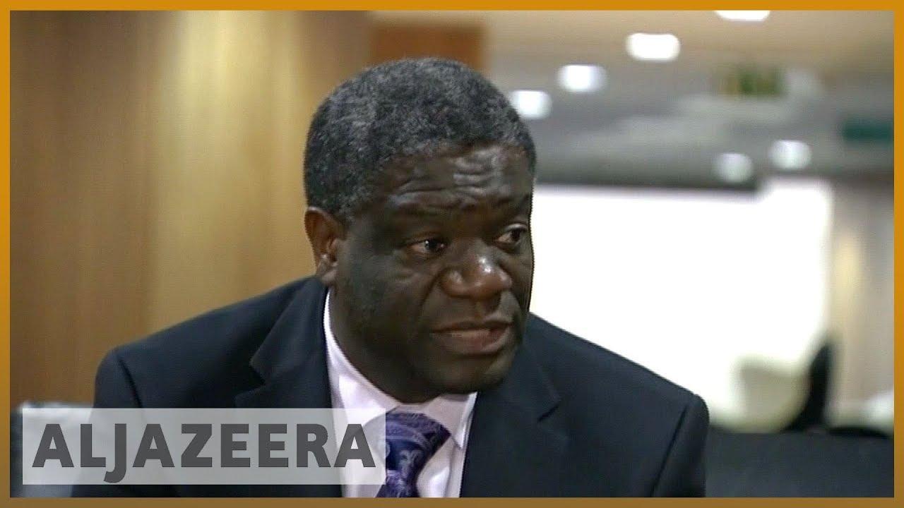 Nobel Peace Prize awards Dr Denis Mukwege