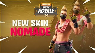 "Nouveau skin ""NOMADE ESTIVAL"" Fortnite Battle Royal boutique Mardi 25 juin 2019 !"