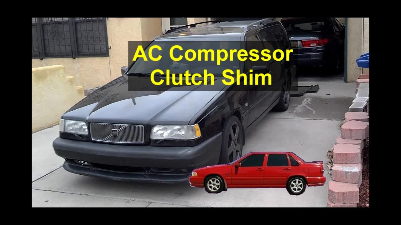 AC turns off while driving and will not come back on  Clutch gap  adjustment  - REMIX