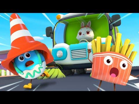 Donut's Rescue Mission |  Yummy Foods Animation | Kids Cartoon | Nursery Rhymes | BabyBus