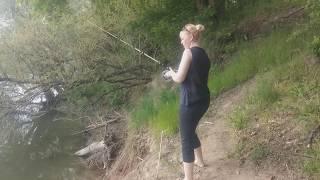 Вот и такая рыбалка бывает!!!