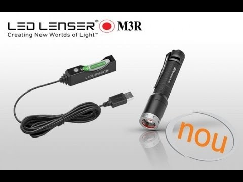 LED Lenser M3R Rechargeable Flashlight Review