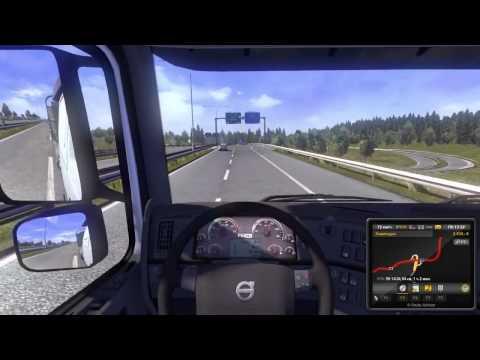 Обзор игры Euro Truck Simulator [Симулятор Грузовых Перевозок]