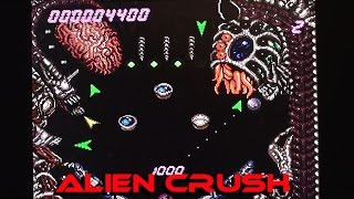 Alien Crush on PC Engine / TurboGrafx-16