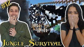 VLIEGEND SPOOKSCHIP BEZOEKT ONS! - JUNGLE SURVIVAL #12