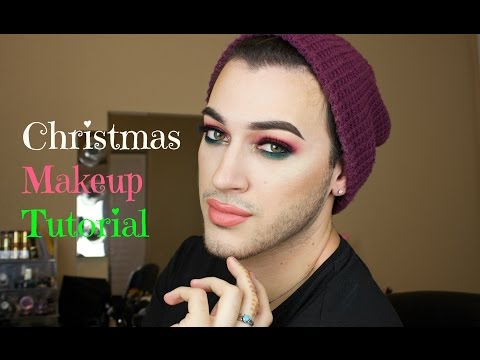 Red and Green Christmas Makeup Tutorial | MannyMua