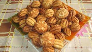 Готовим орешки со сгущенкой дома  по классическому рецепту. nuts cookies with condensed milk