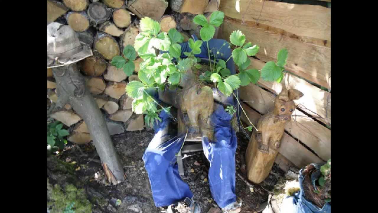 Gartendeko Mit Alten Haushaltssachen - Youtube Gartendeko Aus Alten Sachen Ideen