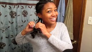 Taking My Braids Down | Stylin Dirty Hair til Wash Day!