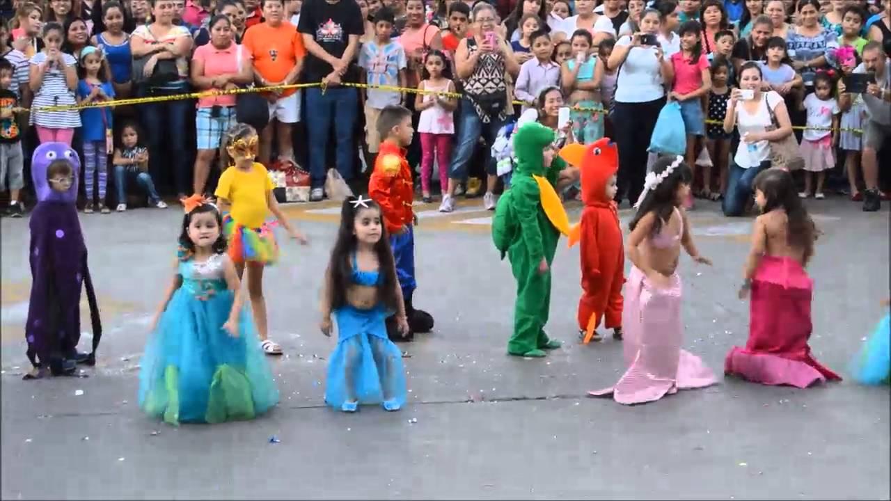 Este fin de semana el carnaval infantil en Manzanillo