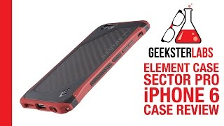 Best iPhone 6 Case - Element Case Sector Pro