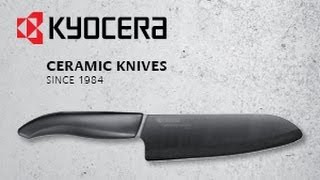Kyocera ceramic knives - quality from Japan since 1984