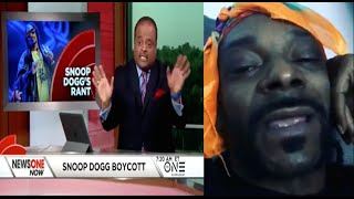 "Roland Martin GOES OFF On Snoop For Trying To Boycott ""Roots"" Snoop Responds~Your Fat & Bald Headed"