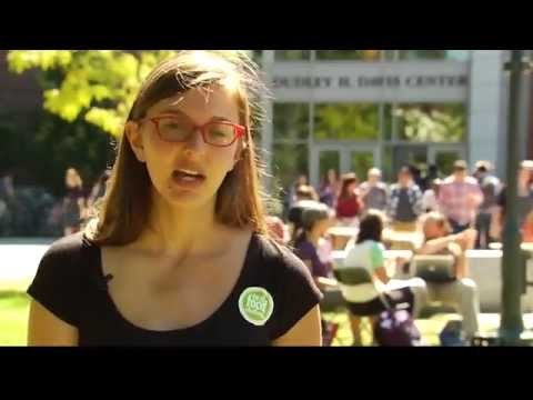 3/04/15 The Real Food Challenge at the University of Vermont on Across The Fence